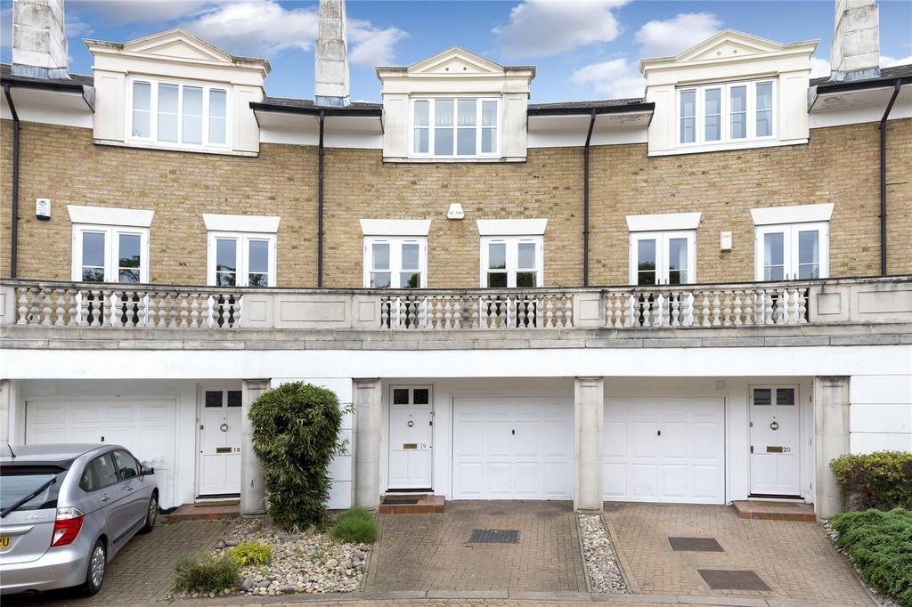 4 Bedrooms Terraced House for sale in Huntingdon Gardens, Chiswick, London