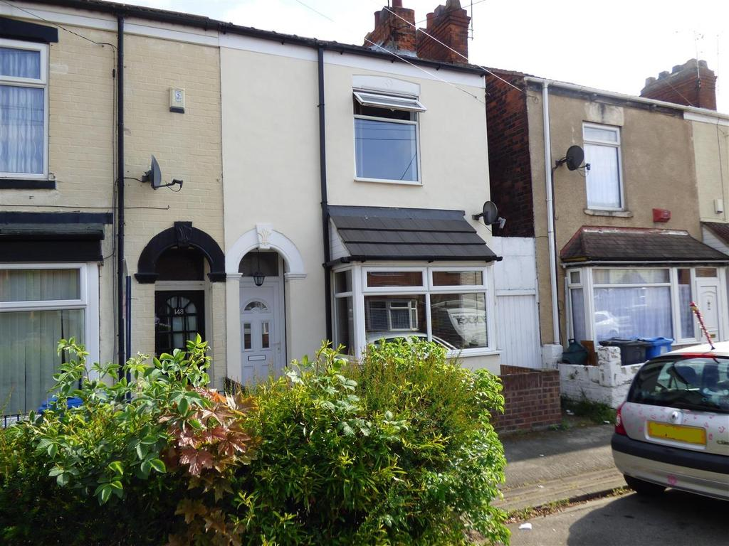 2 Bedrooms End Of Terrace House for sale in Severn Street, Hull