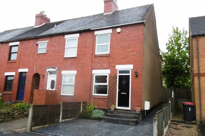 2 Bedrooms End Of Terrace House for sale in 9 Grove Street, St Georges, Telford, Shropshire, TF2 9JW