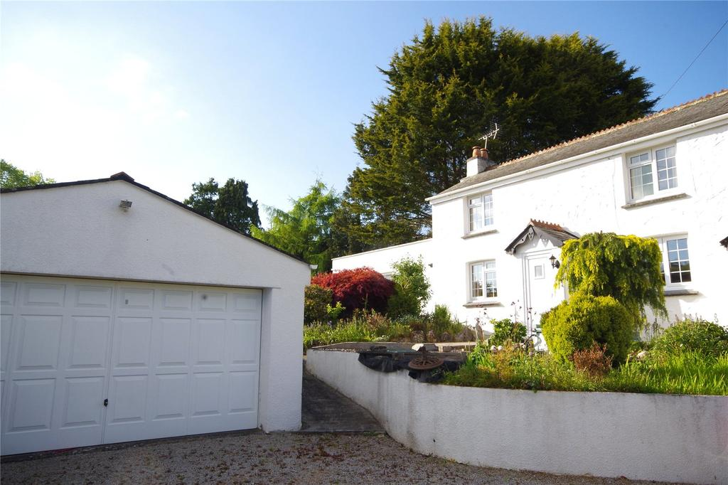 3 Bedrooms Detached House for sale in Rock Hill, Tamerton Foliot, Plymouth, Devon, PL5