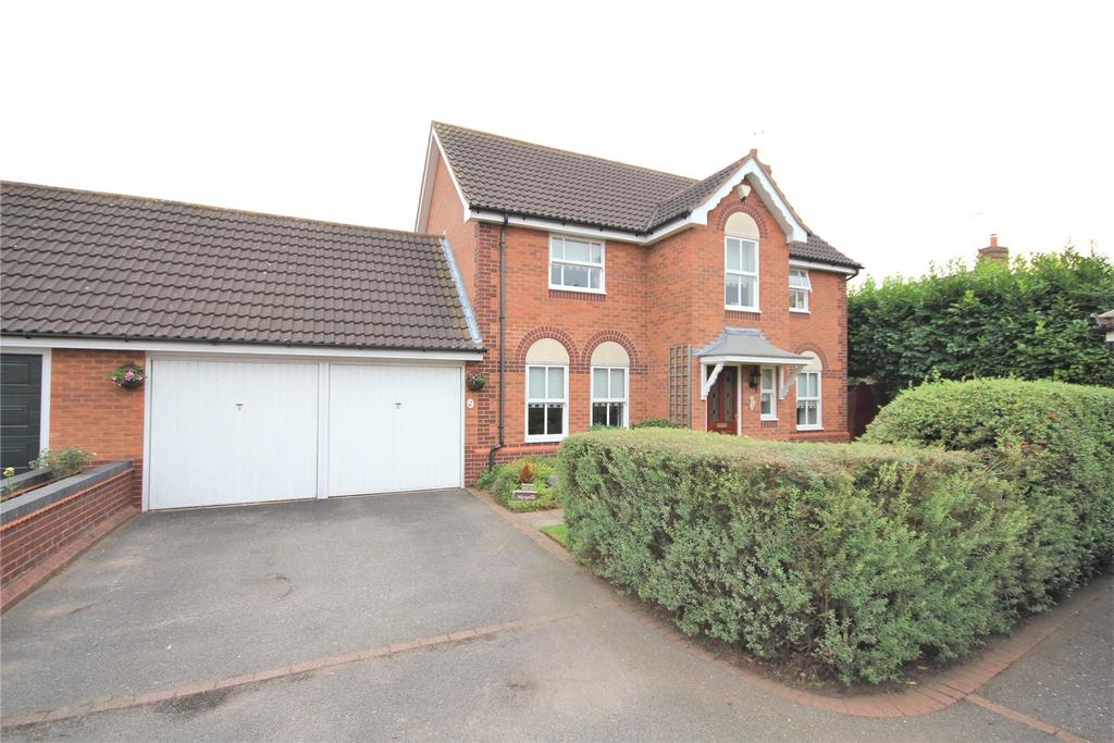4 Bedrooms Detached House for sale in Kipling Drive, Sleaford, NG34