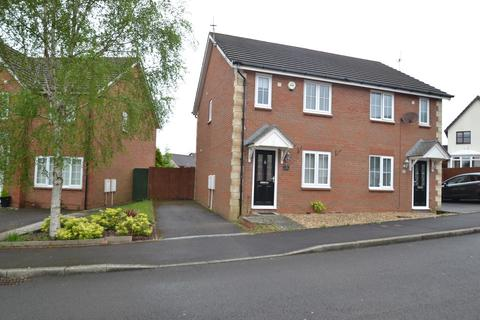 2 bedroom semi-detached house to rent - Trem Y Dyffryn, Broadlands, Bridgend, Bridgend County Borough