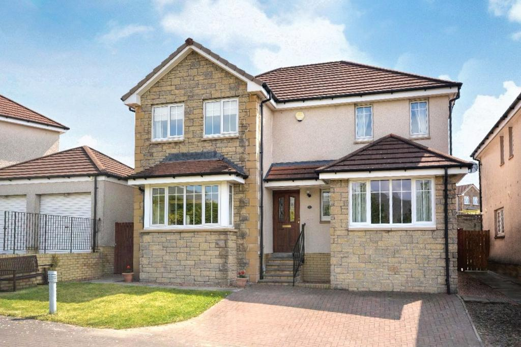 4 Bedrooms Detached House for sale in MacAlpine Court, Muirside, Tullibody, FK10 2FB
