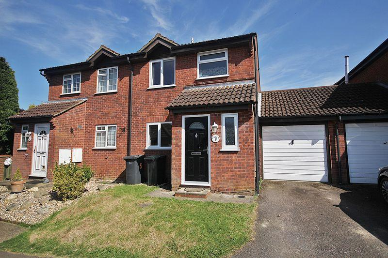3 Bedrooms Semi Detached House for sale in Tyne Close, Flitwick