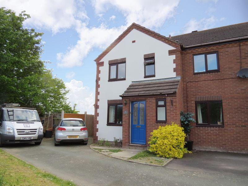 3 Bedrooms Semi Detached House for sale in Park Meadow, Minsterley, Shrewsbury, SY5 0HL