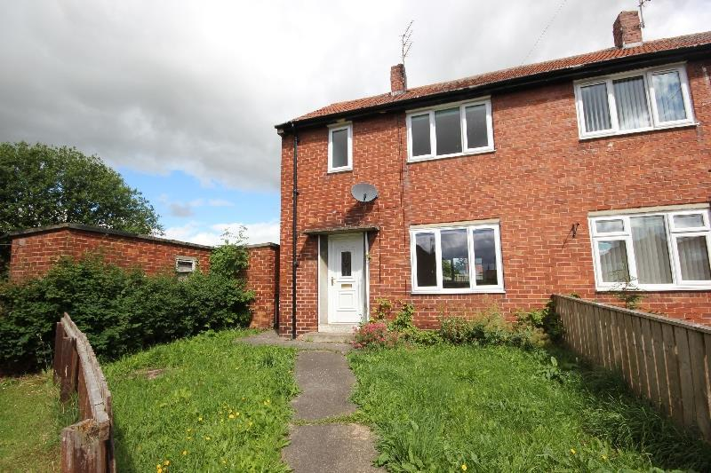 2 Bedrooms Semi Detached House for sale in Norwich Gardens Willington, Crook