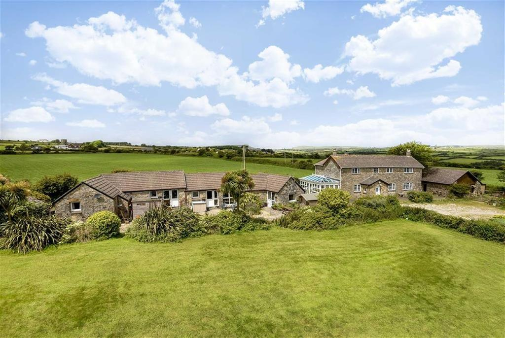 8 Bedrooms Detached House for sale in Nancledra, West Cornwall, Penzance, Cornwall, TR20