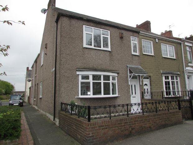 3 Bedrooms Terraced House for sale in CLYDE TERRACE, SPENNYMOOR, SPENNYMOOR DISTRICT