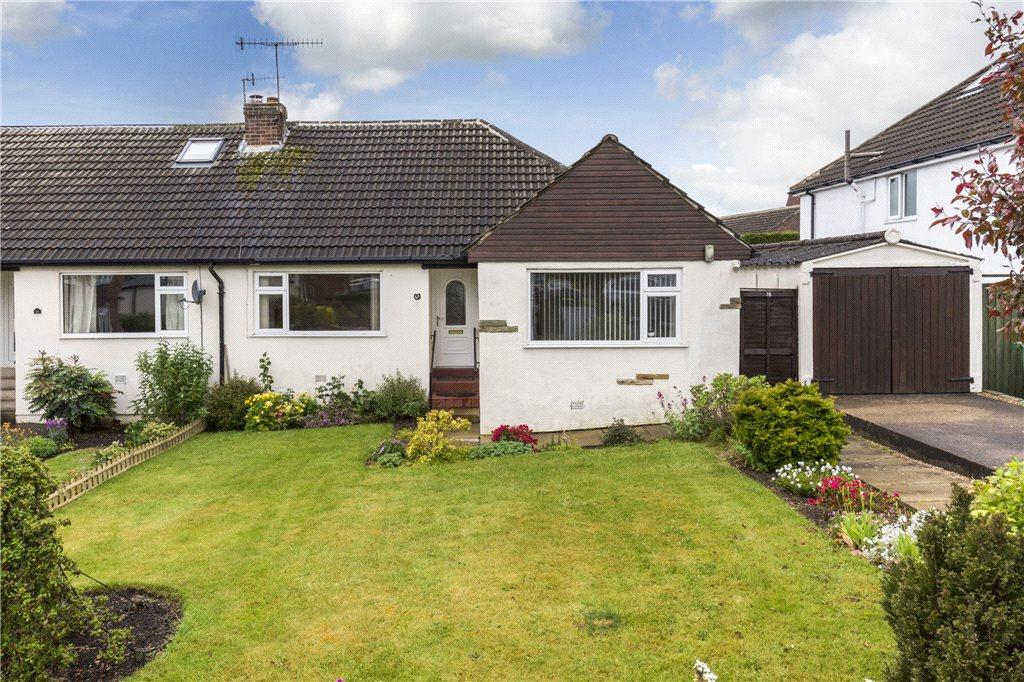 3 Bedrooms Semi Detached Bungalow for sale in Wrenbeck Close, Otley, West Yorkshire
