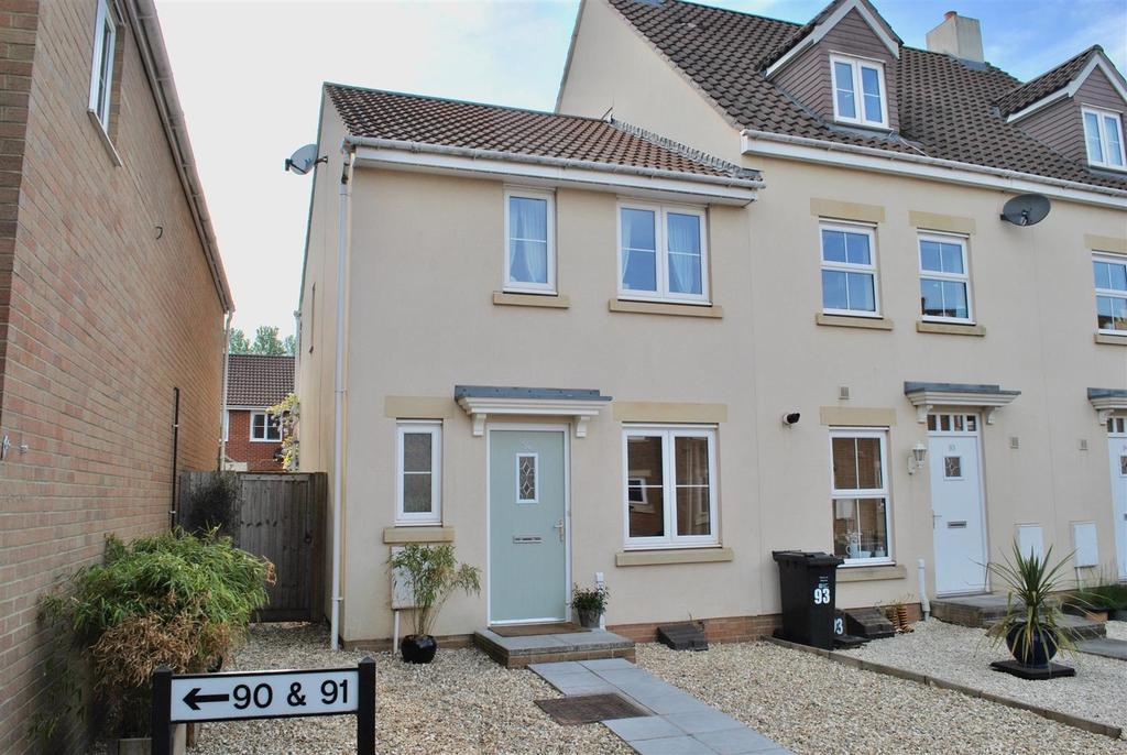 3 Bedrooms End Of Terrace House for sale in Morse Road, Norton Fitzwarren, Taunton
