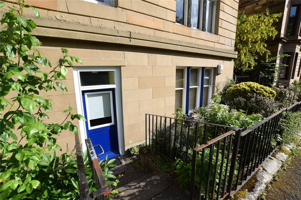 2 Bedrooms Apartment Flat for sale in Garden Flat, Westbank Quadrant, Kelvinbridge, Glasgow