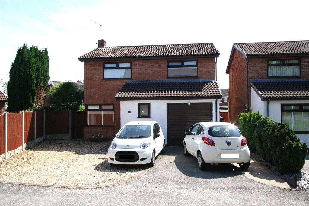 3 Bedrooms Detached House for sale in Ivy Close, Rhosddu, Wrexham, LL11
