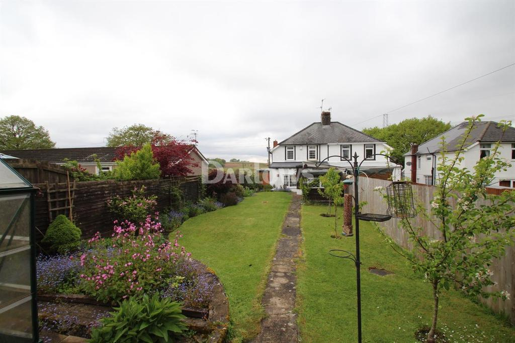 2 Bedrooms Semi Detached House for sale in Halt Road, Rhigos