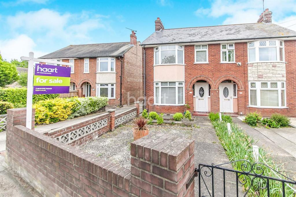 3 Bedrooms Semi Detached House for sale in Ipswich Road, Colchester.