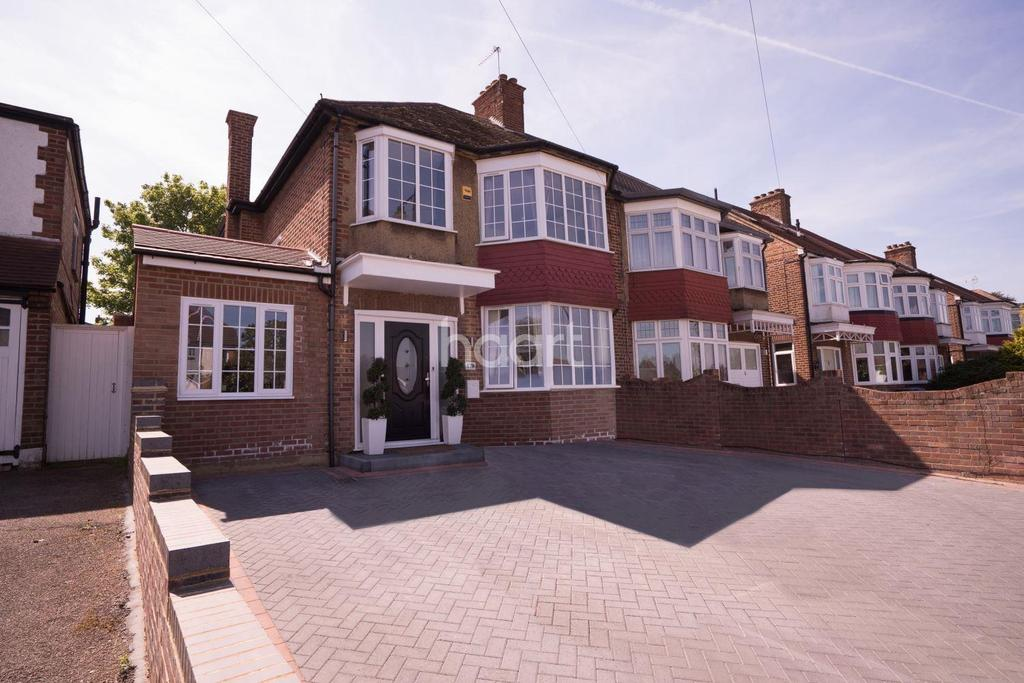 5 Bedrooms Semi Detached House for sale in Winchmore Hill Road, Winchmore Hill, N21