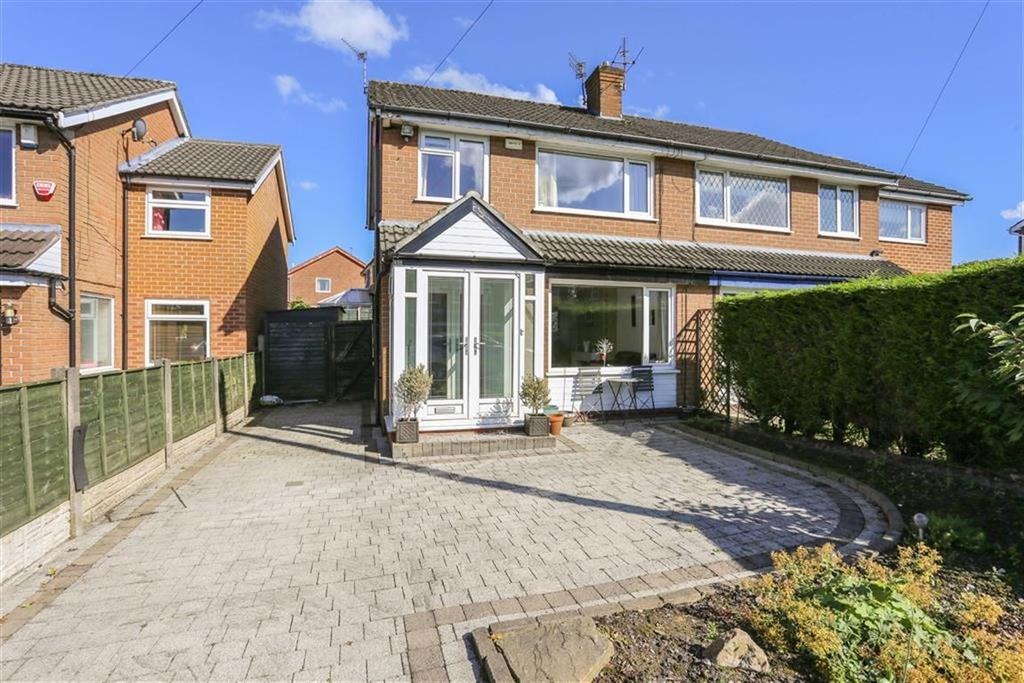 3 Bedrooms Semi Detached House for sale in Woodville Drive, Marple, Cheshire