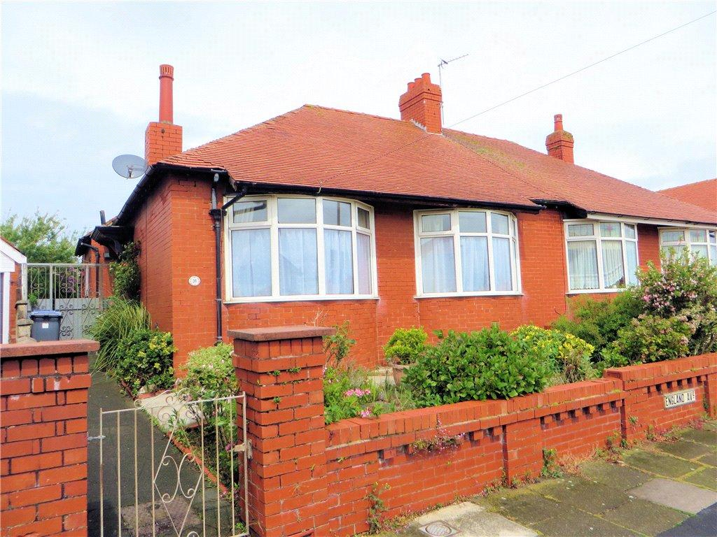 2 Bedrooms Semi Detached Bungalow for sale in England Avenue, Bispham, Blackpool