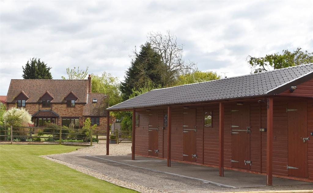 4 Bedrooms Equestrian Facility Character Property for sale in Wood End, Little Horwood