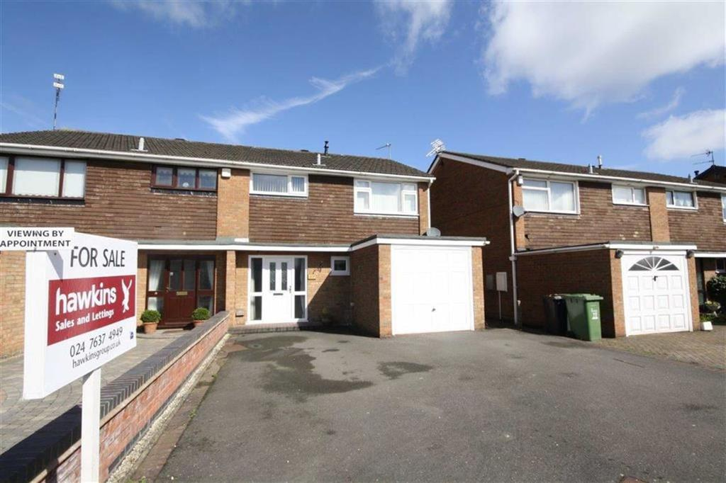 3 Bedrooms Semi Detached House for sale in Chetwynd Drive, Whitestone, Nuneaton