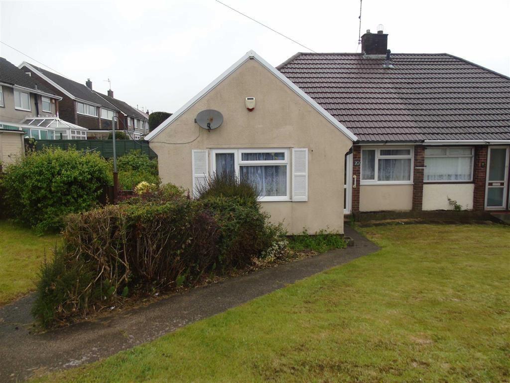 3 Bedrooms Semi Detached Bungalow for sale in Mount Crescent, Pinewood Estate, Swansea
