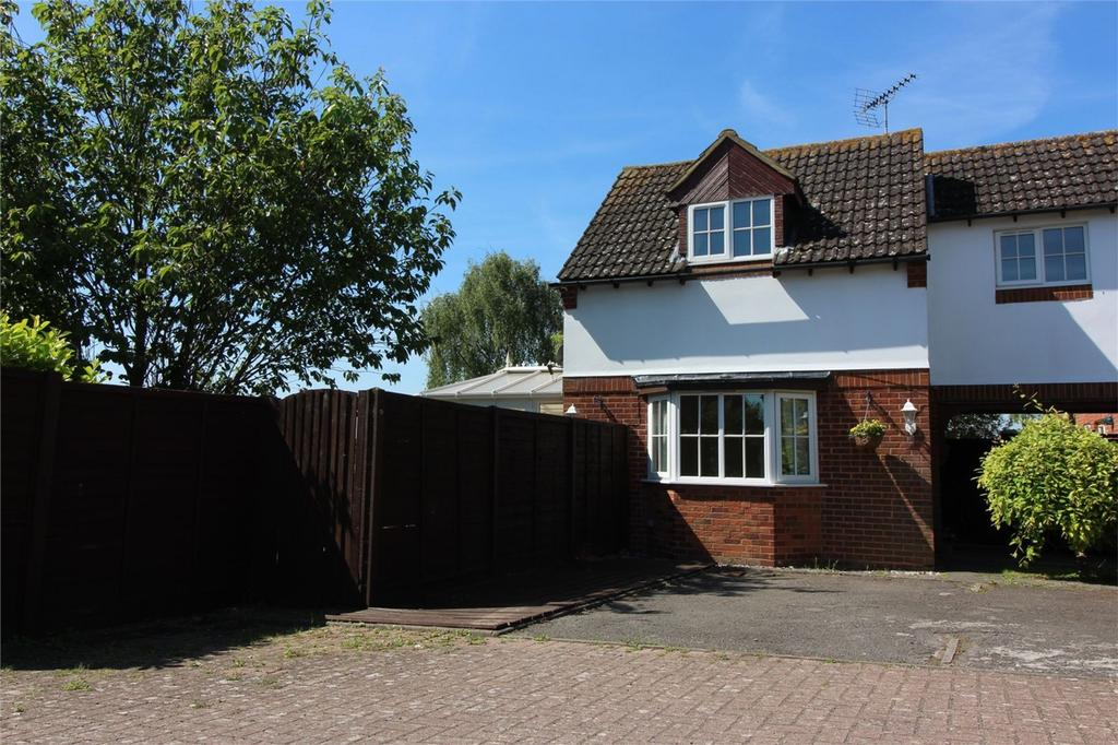 2 Bedrooms End Of Terrace House for sale in Chennells Close, Hitchin, Hertfordshire