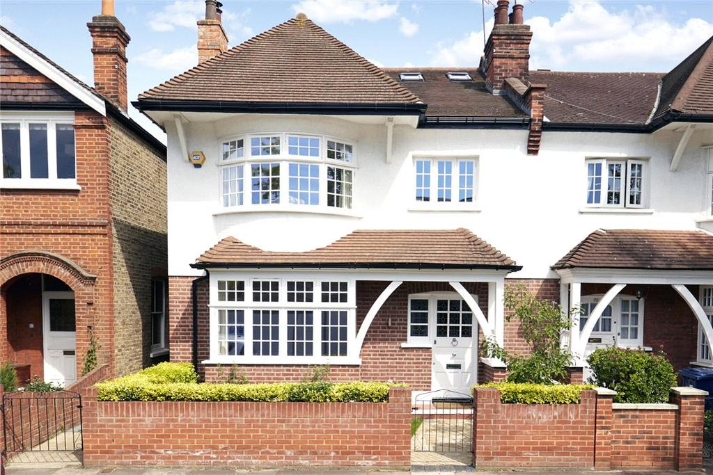 5 Bedrooms Semi Detached House for sale in Ramillies Road, Chiswick, London, W4