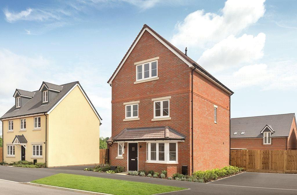 4 Bedrooms Detached House for sale in Brand New CALA Homes, Shopwyke Lakes, Shopwyhke Road, Chichester, PO20