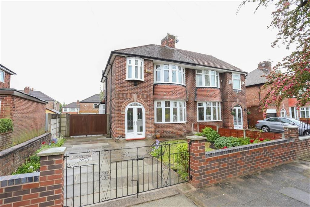 3 Bedrooms Semi Detached House for sale in Broadstone Hall Road North, Heaton Chapel