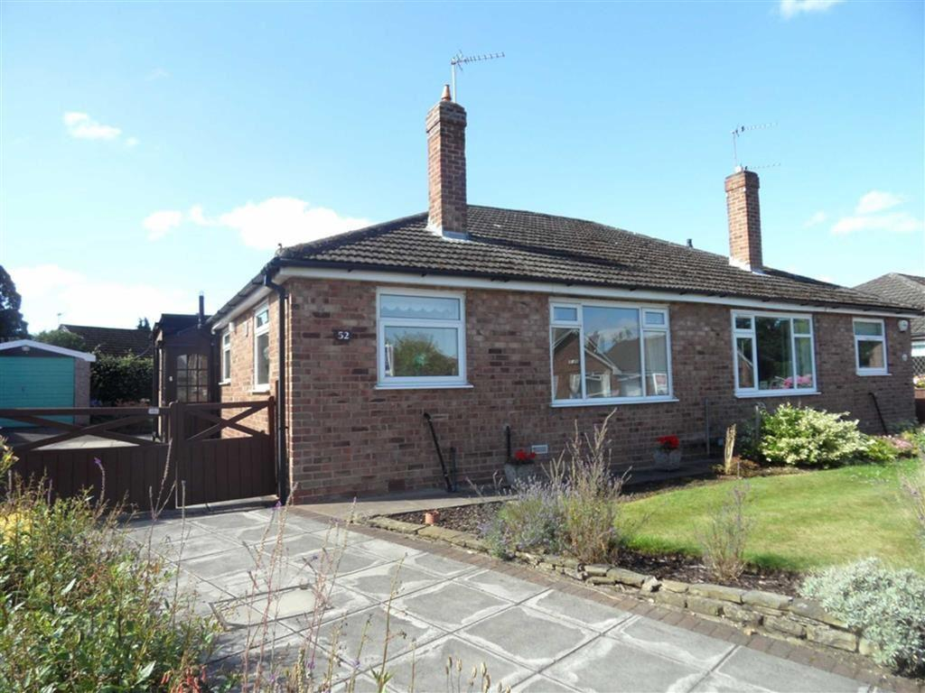 2 Bedrooms Semi Detached Bungalow for sale in Eastleigh Road, Heald Green