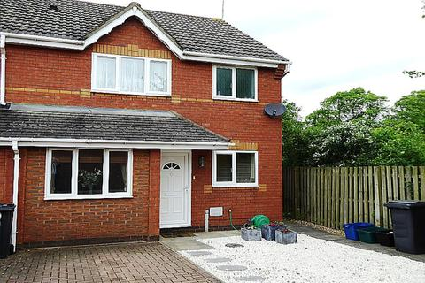 3 bedroom terraced house for sale - Denston Close, East Hunsbury, Northampton, NN4
