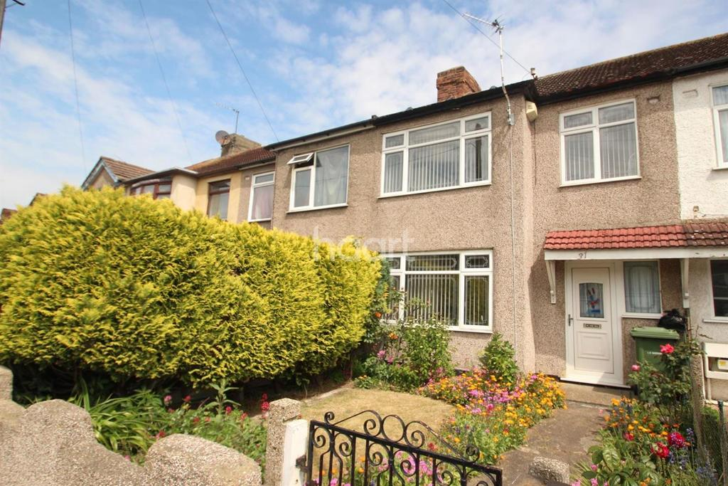 3 Bedrooms Terraced House for sale in Findon Gardens, Rainham