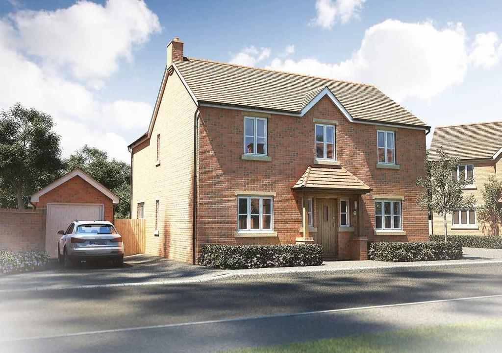 3 Bedrooms Detached House for sale in Plot 3 Maybush Fields