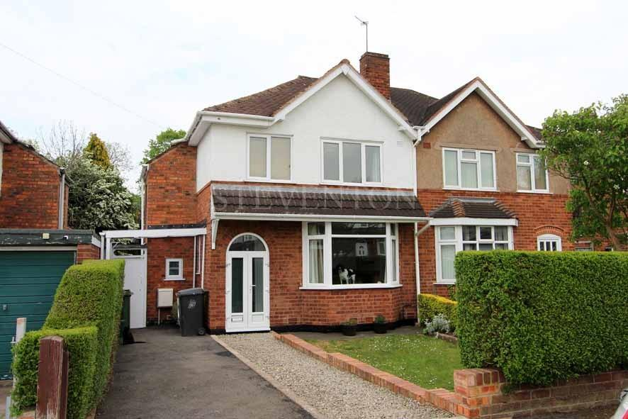 3 Bedrooms Semi Detached House for sale in The Avenue, Castlecroft, Wolverhampton