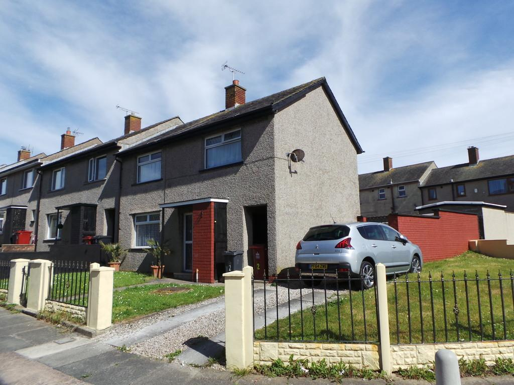 3 Bedrooms End Of Terrace House for sale in Cote Ley Crescent, Walney