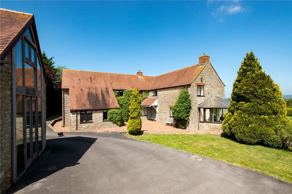 4 Bedrooms Detached House for sale in High Road, Horsington, Templecombe, Somerset, BA8
