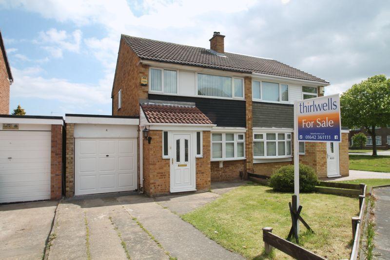 3 Bedrooms Semi Detached House for sale in Woodham Road, Billingham