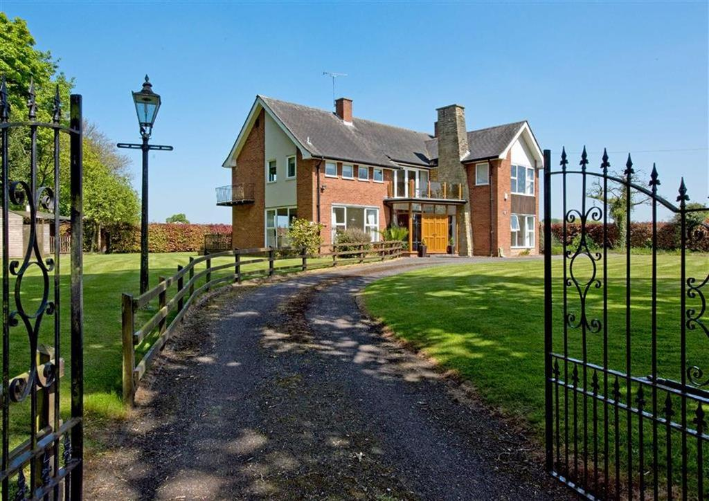 5 Bedrooms Detached House for sale in Crateford House, Crateford Lane, Gailey, Wolverhampton, South Staffordshire, ST19