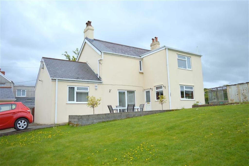 4 Bedrooms Detached House for sale in Ddol Road, Dunvant, Swansea