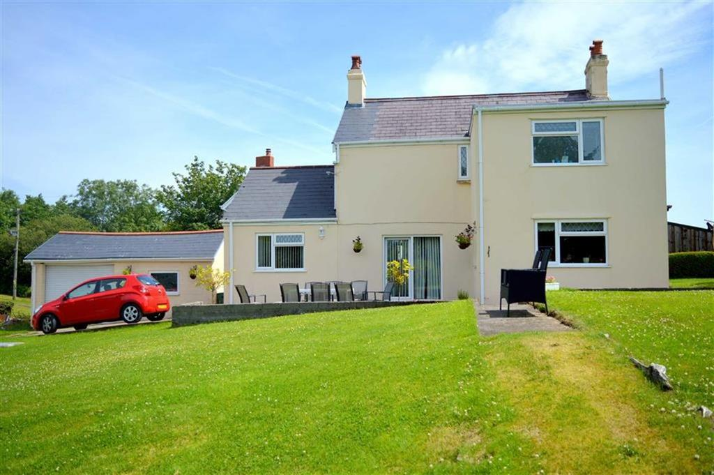 4 Bedrooms Detached House for sale in Ddol Road, Dunvant, Swansea