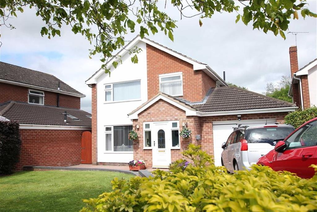 4 Bedrooms Detached House for sale in Cotebrook Drive, Upton, Chester