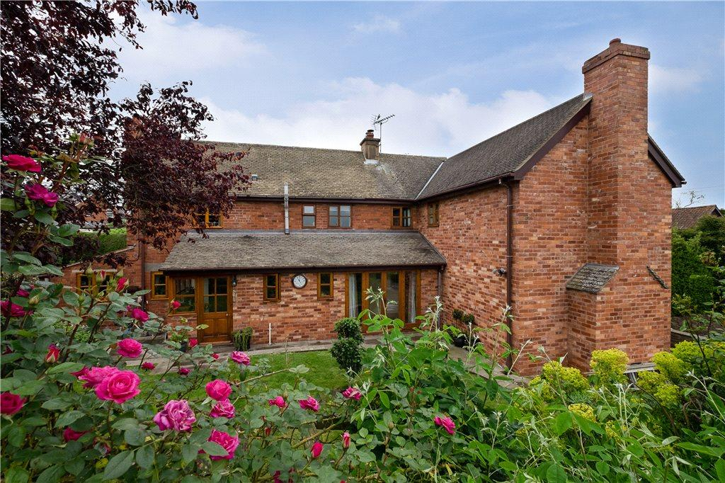 4 Bedrooms Detached House for sale in Burghill, Hereford, Herefordshire, HR4