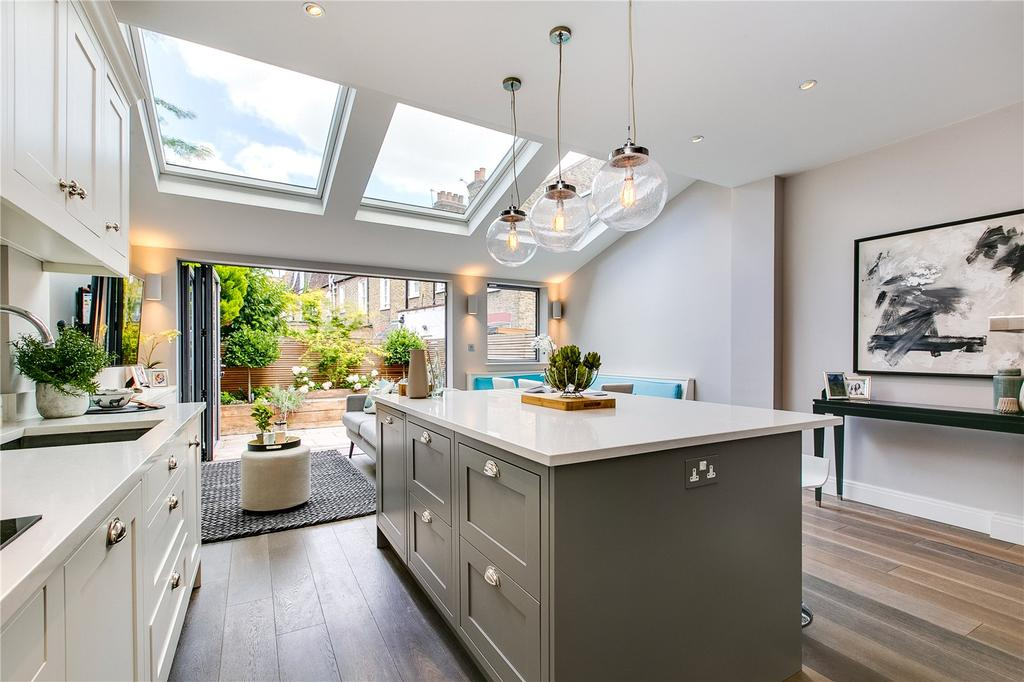4 Bedrooms House for sale in Rannoch Road, Hammersmith, London
