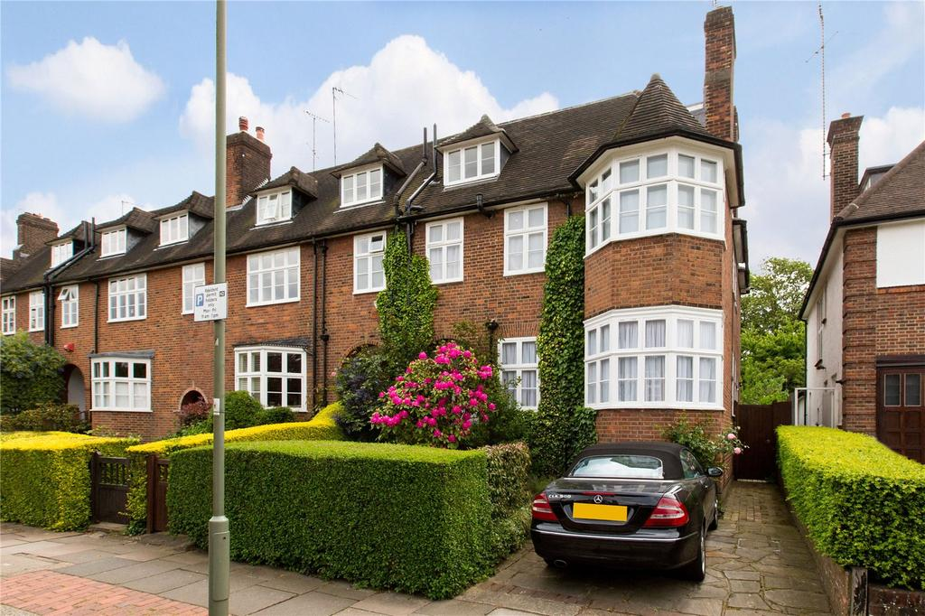 5 Bedrooms Semi Detached House for sale in Rotherwick Road, Hampstead Garden Suburb, London