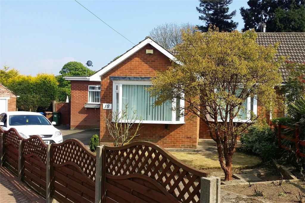 2 Bedrooms Semi Detached Bungalow for sale in Four Acre Close, Kirk Ella, Hull, East Riding of Yorkshire