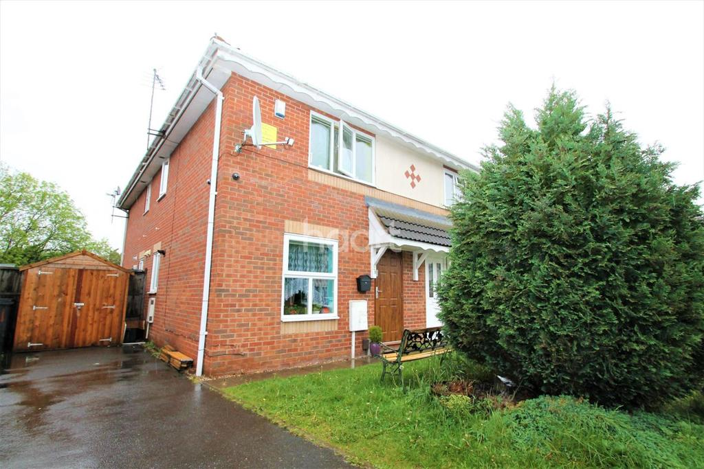 1 Bedroom Semi Detached House for sale in Wodehouse Road, Braunstone Town, Leicester