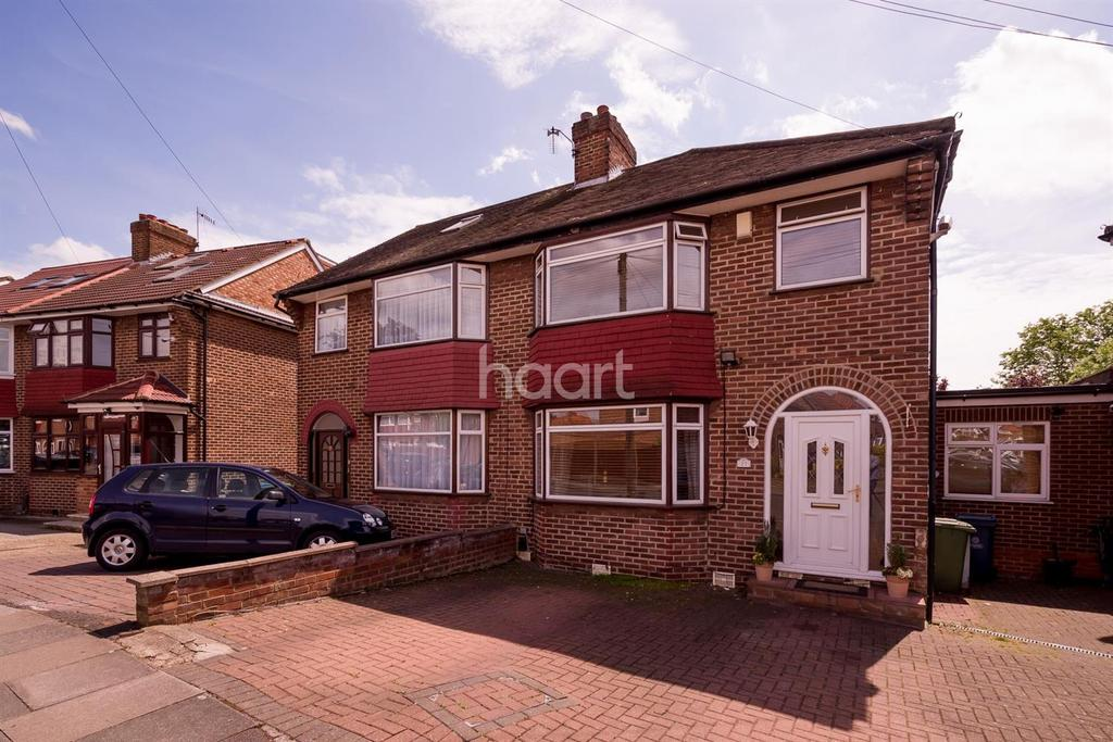 5 Bedrooms Semi Detached House for sale in Westleigh Gardens, HA8
