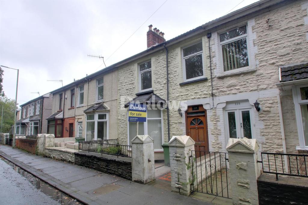 3 Bedrooms Terraced House for sale in Berw road, Pontypridd