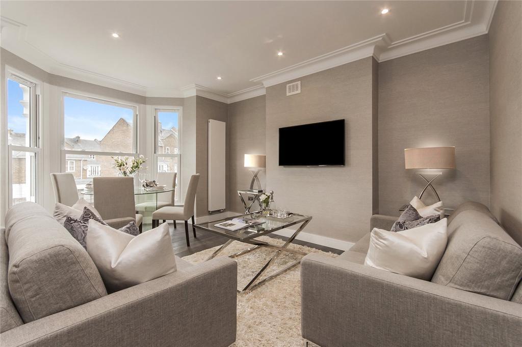 3 Bedrooms Flat for sale in Hillfield Road, West Hampstead, London