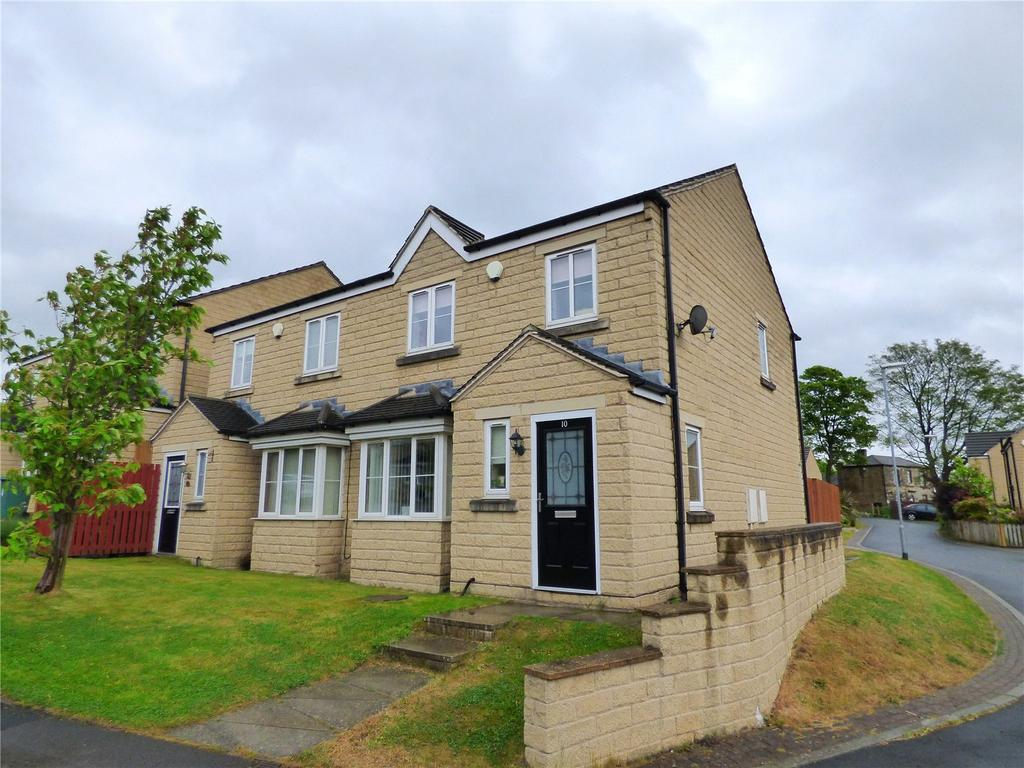 3 Bedrooms Semi Detached House for sale in Teasel Close, Liversedge, WF15