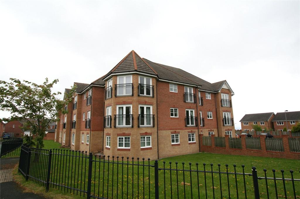 2 Bedrooms Apartment Flat for sale in Lamberton Drive, Brymbo, Wrexham, LL11